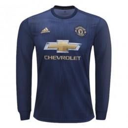 پیراهن اول منچستر یونایتد آستین دار Manchester United 2018-19 Away Soccer Jersey Long Sleeve