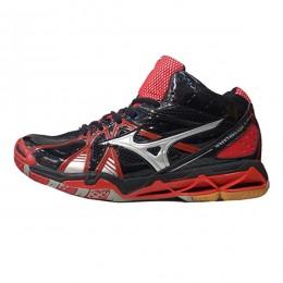 کفش والیبال میزانو طرح اصلی مشکی قرمز Mizuno