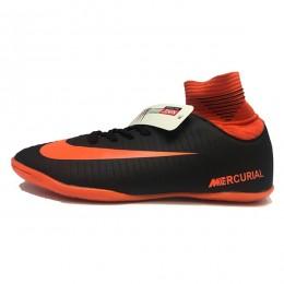 کفش فوتسال نایک مرکوریال طرح اصلی مشکی نارنجی Nike Mercurial 18