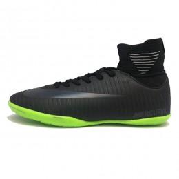 کفش فوتسال نایک مرکوریال طرح اصلی مشکی سبز Nike Mercurial 2018