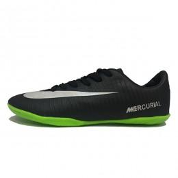 کفش فوتسال نایک مرکوریال طرح اصلی مشکی سفید Nike Mercurial 18