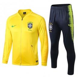 ست گرمکن شلوار برزیل Brazil Nike Training Tracksuit 2018