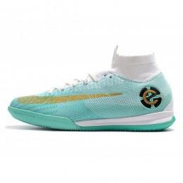 کفش فوتسال نایک مرکوریال طرح اصلی سبز Nike Mercurial SuperflyX Green White Gold