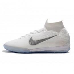 کفش فوتسال نایک مرکوریال طرح اصلی سفید Nike Mercurial SuperflyX White Metallic Cool Grey
