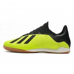 کفش فوتسال آدیداس ایکس طرح اصلی Adidas X Tango 18.3 Yellow Core Black White