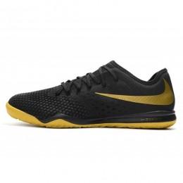 کفش فوتسال نایک زوم هایپرونوم مشکی Nike Zoom Hypervenom PhantomX Black Gold