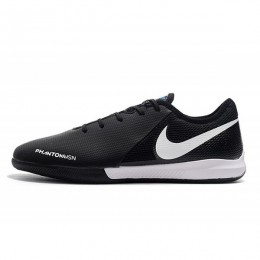 کفش فوتسال نایک فانتوم طرح اصلی مشکی Nike Phantom Black White Blue