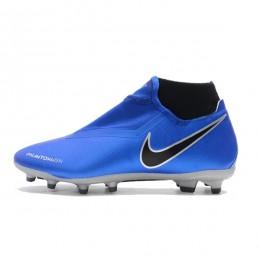 کفش فوتبال نایک فانتوم طرح اصلی آبی Nike Mercurial SuperflyX Neymar Yellow White Black