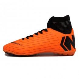 کفش چمن مصنوعی نایک مرکوریال نارنجی مشکی Nike Mercurial