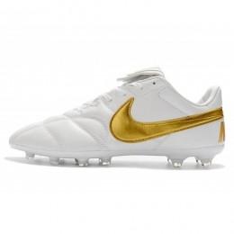 کفش فوتبال نایک پریمیر Nike Premier II 2.0 FG White Gold