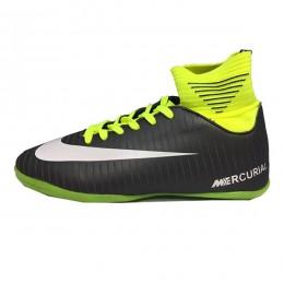 کفش فوتسال سایز کوچک نایک مرکوریال مشکی فسفری Nike Mercurial