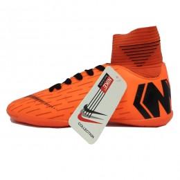 کفش فوتسال سایز کوچک نایک مرکوریال نارنجی Nike Mercurial