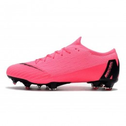 کفش فوتبال نایک مرکوریال طرح اصلی صورتی Nike Mercurial Vapor XII Elite FG Pink Black