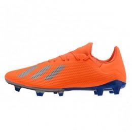 کفش فوتبال آدیداس ایکس طرح اصلی نارنجی Adidas X FG Orange Silver Blue