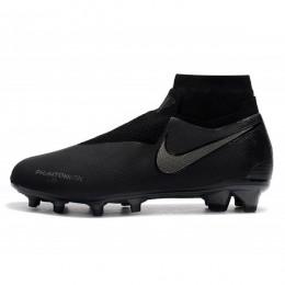 کفش فوتبال نایک فانتوم طرح اصلی مشکی Nike Phantom Vision Elite DF FG Black Silver