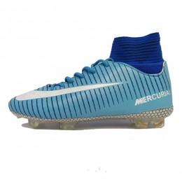 کفش فوتبال نایک مرکوریال سایز کوچک طرح اصلی آبی Nike Mercurial 2018