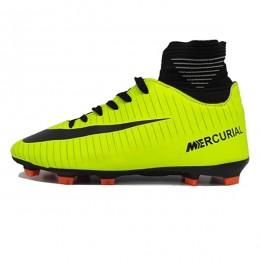 کفش فوتبال نایک مرکوریال سایز کوچک طرح اصلی فسفری مشکی Nike Mercurial 2018