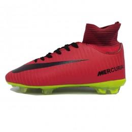 کفش فوتبال نایک مرکوریال سایز کوچک طرح اصلی قرمز Nike Mercurial 2018