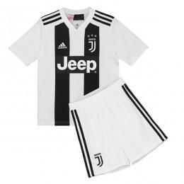 پیراهن شورت اول یوونتوس Juventus 2018-19 Home Soccer Jersey Kit Shirt+Short