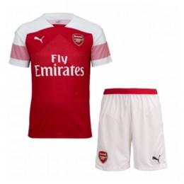 پیراهن شورت اول آرسنال Arsenal 2018-19 Home Soccer Jersey Kit Shirt+Short