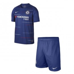 پیراهن شورت اول چلسی Chelsea 2018-19 Home Soccer Jersey Kit Shirt+Short