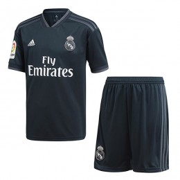 پیراهن شورت دوم رئال مادرید Real Madrid 2018-19 Away Soccer Jersey Kit Shirt+Short