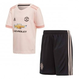 پیراهن شورت دوم منچستریونایتد Manchester United 2018-19 Away Soccer Jersey Kit Shirt+Short