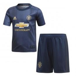 پیراهن شورت سوم منچستریونایتد Manchester United 2018-19 3rd Soccer Jersey Kit Shirt+Short