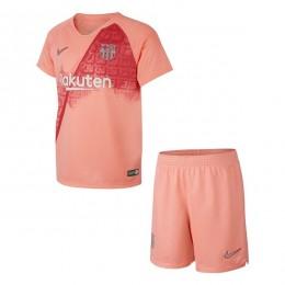 پیراهن شورت سوم بارسلونا Barcelona 2018-19 3rd Soccer Jersey Kit Shirt+Short