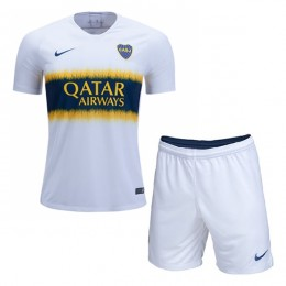 پیراهن شورت دوم بوکاجونیورز Boca Junuors 2018-19 Away Soccer Jersey Kit Shirt+Short