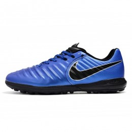 کفش چمن مصنوعی نایک تمپو طرح اصلی آبی Nike TiempoX Finale TF BlueBlack