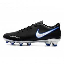 کفش فوتبال نایک فانتوم طرح اصلی مشکی Nike Phantom Vision FG BlackBlueSilver