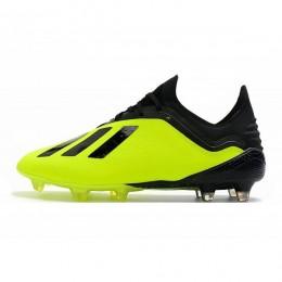 کفش فوتبال آدیداس ایکس طرح اصلی زرد مشکی Adidas X 2018 Y