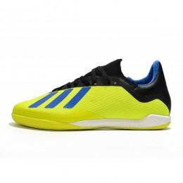 کفش فوتسال آدیداس ایکس طرح اصلی زرد Adidas X Tango 18.3 IN Yellow