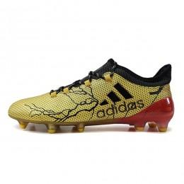 کفش فوتبال آدیداس ایکس طرح اصلی طلایی Adidas X Y