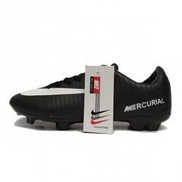 کفش فوتبال نایک مرکوریال طرح اصلی مشکی سفید Nike Mercurial 2018