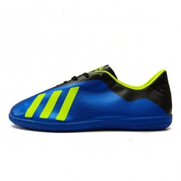 کفش فوتسال آدیداس سایز کوچک طرح اصلی آبی Adidas Messi