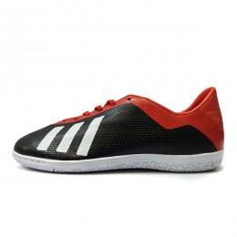 کفش فوتسال آدیداس سایز کوچک طرح اصلی مشکی قرمز Adidas Messi