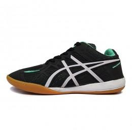 کفش فوتسال اسیکس مشکی سبز Asics