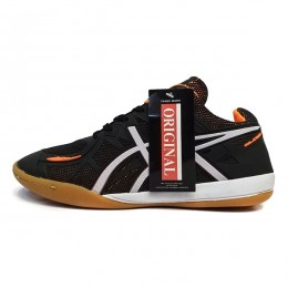 کفش فوتسال اسیکس مشکی نارنجی Asics