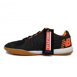 کفش فوتسال نیوبالانس مشکی نارنجی New Balance