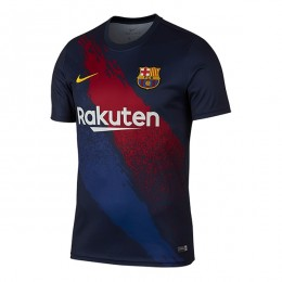پیراهن تمرینی بارسلونا Barcelona Dark blue Training 2019-20 Jersey