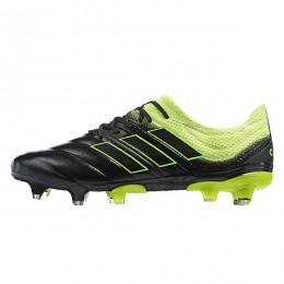 کفش فوتبال آدیداس کوپا طرح اصلی مشکی زرد Adidas Copa 19.1 FG Core Black Yellow