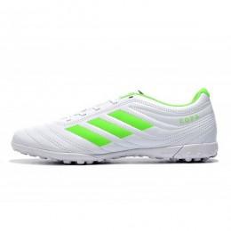 کفش چمن مصنوعی آدیداس کوپا طرح اصلی سفید Adidas Copa 19.4 TF WhiteGreen