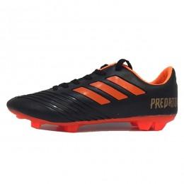 کفش فوتبال آدیداس پردیتور طرح اصلی مشکی نارنجی Adidas Predator