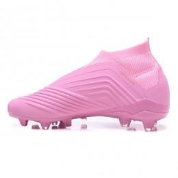 کفش فوتبال آدیداس پردیتور طرح اصلی صورتی Adidas Predator 18+ FG - Pink