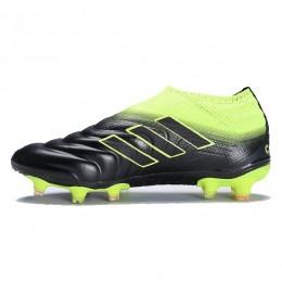 کفش فوتبال آدیداس کوپا طرح اصلی مشکی سبز Adidas Copa 19+ FG Black Green