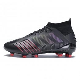 کفش فوتبال آدیداس پردیتور طرح اصلی مشکی قرمز Adidas Predator 19.1 FG Blac kActive Red Online