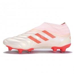 کفش فوتبال آدیداس کوپا طرح اصلی سفید Adidas Copa 19+ FG White Solar Red