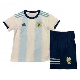 پیراهن شورت اول آرژانتین Argentina 2019-20 Home Soccer Jersey Kit Shirt+Short